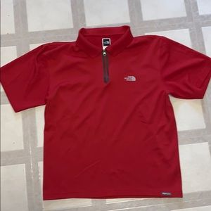 GUC MEN'S THE NORTH FACE SHORT-SLEEVED 1/4 ZIP TEE